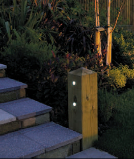 Decking lighting - Suitable materials for decking ...