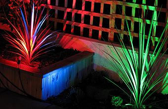 LED Garden Colour Changing Lights