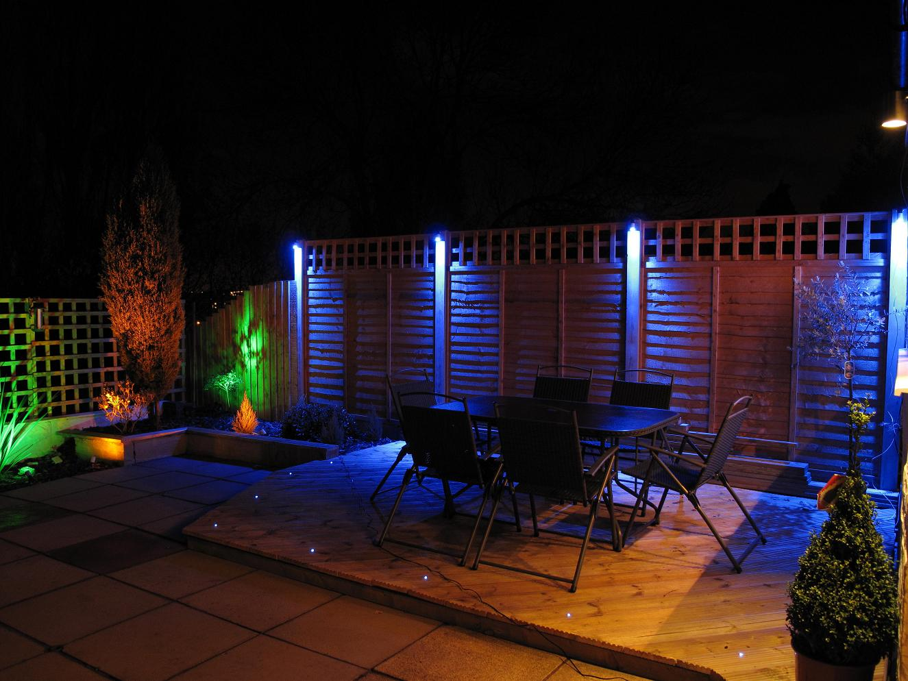 led garden lights. Black Bedroom Furniture Sets. Home Design Ideas